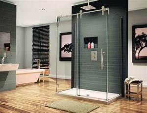 Parquet Quick Step Salle De Bain : parquet salle de bain gris carrelage sol salle de bain ~ Zukunftsfamilie.com Idées de Décoration