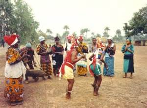 Sierra Leone, 1992. Peace Corps training event where trainers from ... Sierra Leone