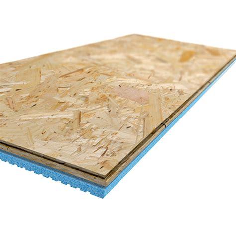 isolation phonique sous plancher bois panneaux de sous plancher isolant insulfloorboard r3 15 1 2 po x 47 1 2 po x 1 po bo 238 te de 4