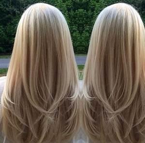 Lange Glatte Haare : stufenschnitt lange haare glatt ~ Frokenaadalensverden.com Haus und Dekorationen