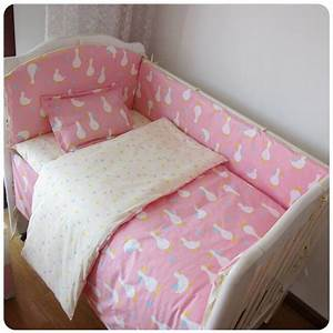 9pcs, Whole, Set, Cotton, Baby, Bedding, Set, Crib, Bedding, Set