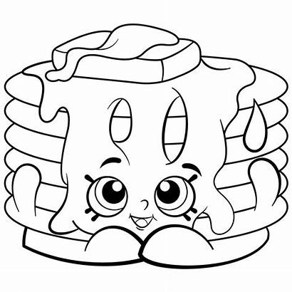 Shopkins Coloring Pages Printable Copy Getdrawings