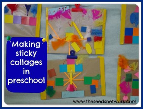 preschool collage sticky collages in preschool to be places and 960
