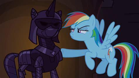 filerainbow dash pokes suit  armor sepng