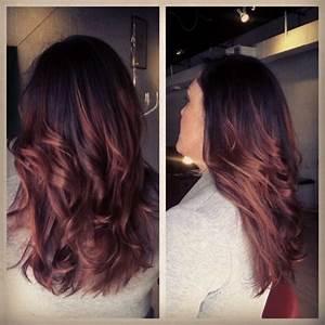 Ombré Hair Auburn : pinterest the world s catalog of ideas ~ Dode.kayakingforconservation.com Idées de Décoration
