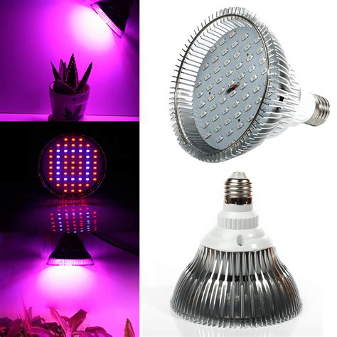 spectrum 24w 36w 52w 58w e27 led grow lights led