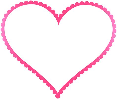 pink heart border frame transparent png clip art gallery yopriceville