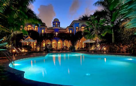 island miami star mansion moroccan villa architecture beach exotic pool night million water pliner homes salt donald sylvia donnell rosie