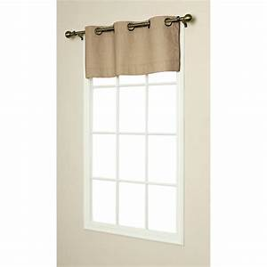 weathermate insulated grommet top valances thermal With grommet curtains with valance