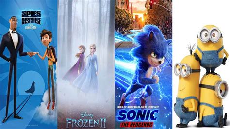 upcoming kids movies 2020