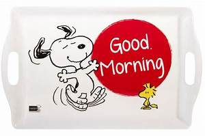 Good Morning Snoopy : plateau melamine snoopy 50 5x31 5cm good morning accessoires cuisine sali re gant pas cher ~ Orissabook.com Haus und Dekorationen