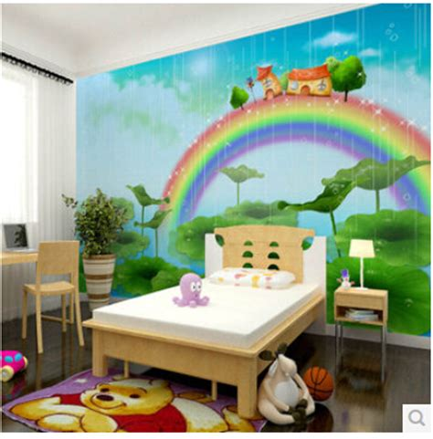 aliexpress buy mural children s bedroom 3d wallpaper