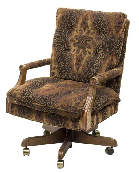 swivel chairs for upholstered floral print fabric swivel desk chair 5964