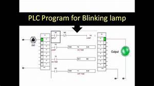 Plc Programming For Blinking Lamp   Flashing Light   Interval