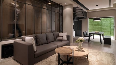 Contemporary Loft Style Apartment Design  Roohome. Two Level Living Room. Beautiful Living Rooms Pictures. Living Room Ideas With Feature Wall. American Furniture Warehouse Living Room Sets. Rug On Carpet Living Room. Living Room Window Seat. Ikea Living Room Decorating Ideas. How To Clean Your Living Room