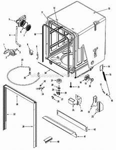 Amana Adb3500aws Parts List And Diagram