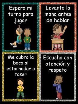 los buenos modales manners  spanish  bilingual