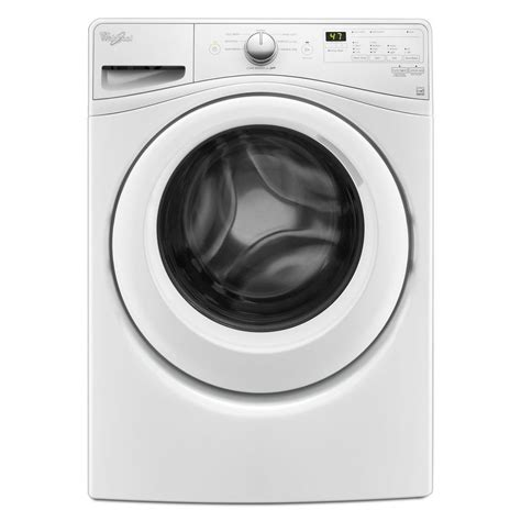 sears washer dryer shop whirlpool 4 5 cu ft high efficiency stackable front