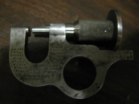 Apx york sheet metal mail. History & Value? Brown & Sharpe Sheet Metal Micrometer