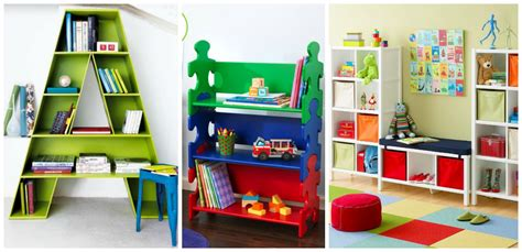 Beautiful Shelves Designs For Kids' Room