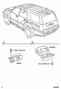 Toyota 4runner Tire Pressure Monitoring System Control