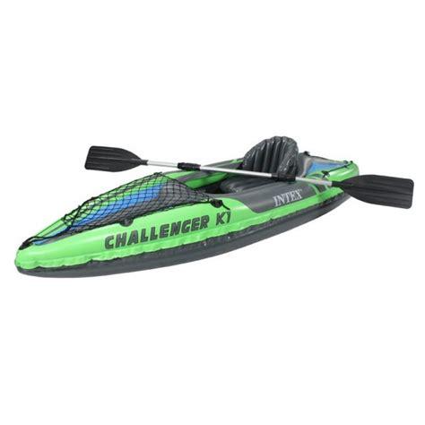 Opblaasbare Kajak by Eenpersoons Kayak Intex K1 Challenger Opblaas Kano S Een