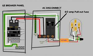 Electrical - How To Hook Up 120v  U0026 240v On Ac Disconnect