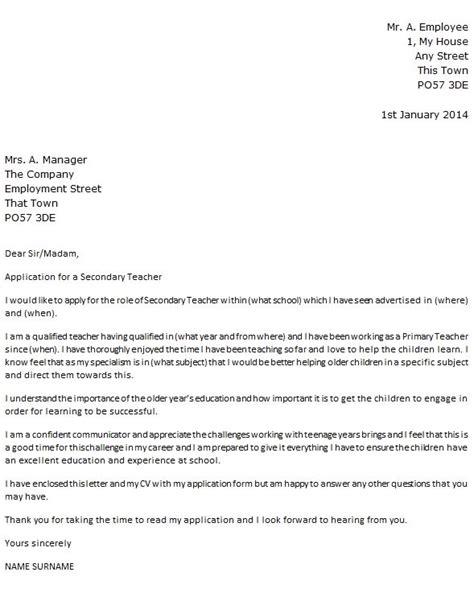 cover letter primary school teacher   write