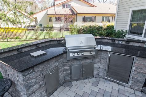 outdoor kitchen countertops wow your friends with a new granite countertop outdoor