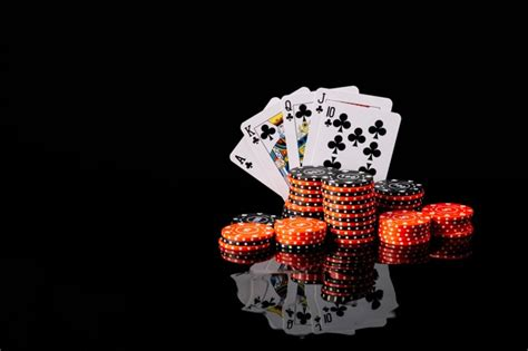Poker Cards Background Vector