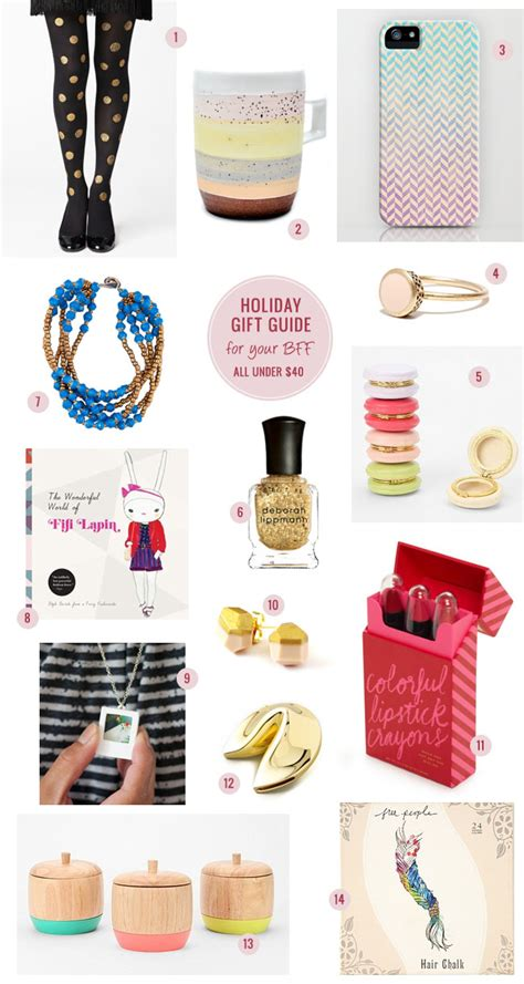 holiday gift guide for your bff all gifts under 40