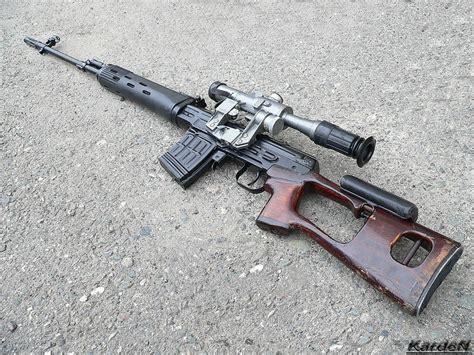 Dragunov Svd Sniper Rifle 3 By Garr1971 On Deviantart