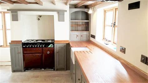 wooden cottage kitchen cottage leics 1158