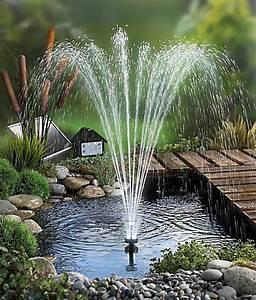 Springbrunnen Für Teich : solar springbrunnen jetzt bei bestellen ~ Eleganceandgraceweddings.com Haus und Dekorationen