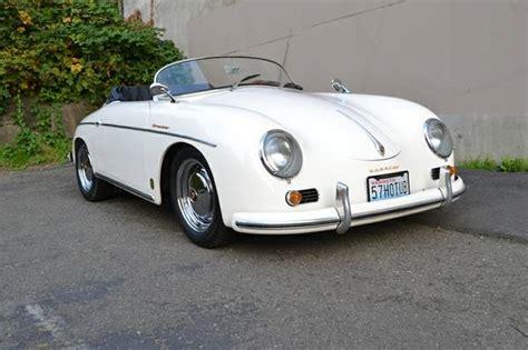 porsche classic speedster white 1957 porsche 356 speedster buy classic volks