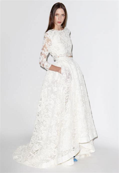 wedding trend  piece bridal dresses kavita mohan