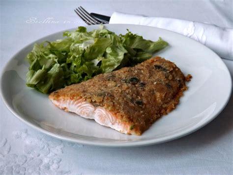 salmone gratinato al forno ricetta leggera e saporita