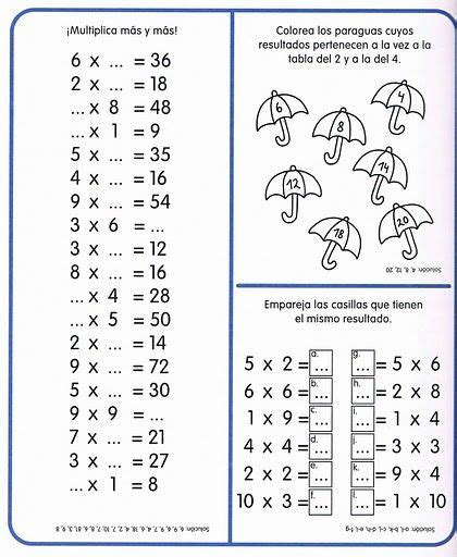 17 Best Images About Multiplicaciones On Pinterest