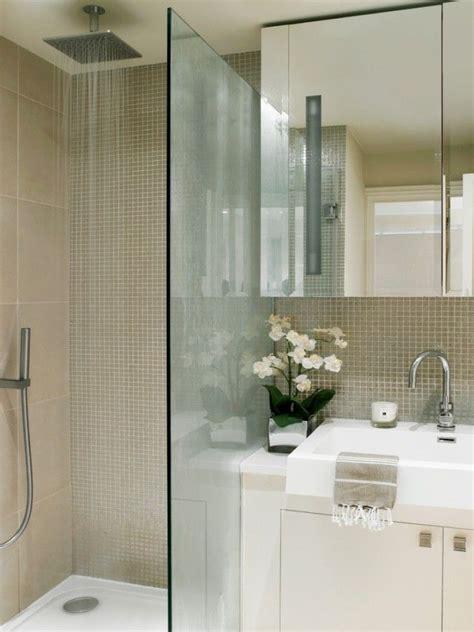 Kleine Badezimmer Ideen Bilder by Ideen Kleine B 228 Der Begehbare Dusche Glaswand Abtrennung