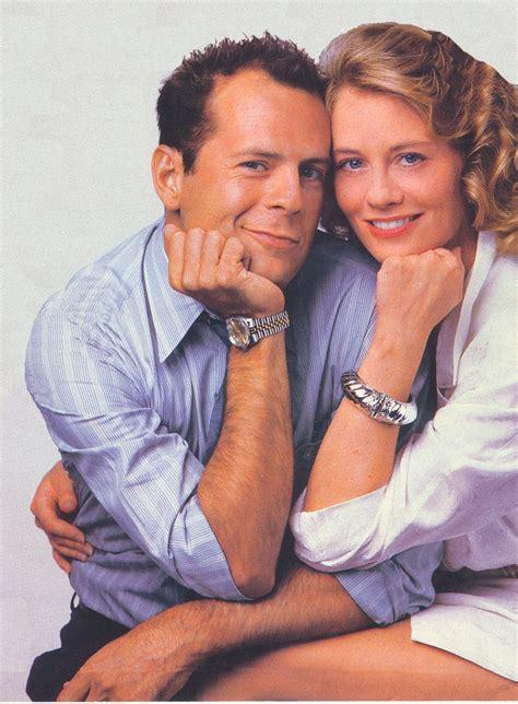 Cybill Shepherd And Bruce Willis Aw The Moonlighting
