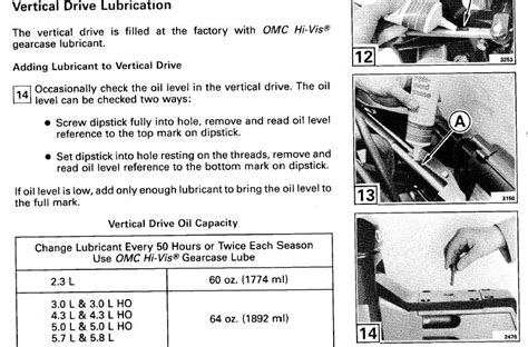 omc cobra  outdrive oil questions page  iboats