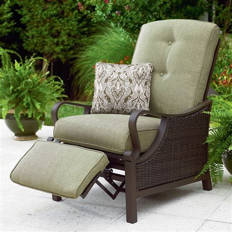 reclining outdoor furniture comfortable reclining patio chair the home redesign