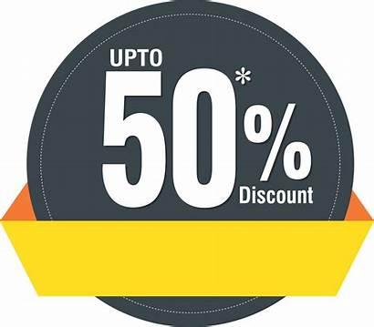 Percent Discount Label Upto