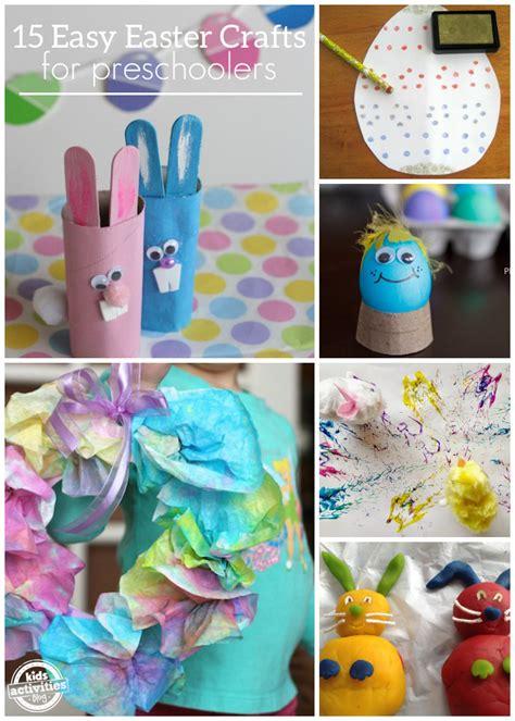 easy easter crafts  preschoolers