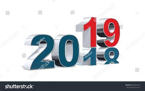20182019 Change Represents New Year 2019 Stock