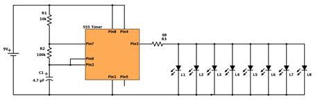 christmas light chaser circuit blinking christmas lights build electronic circuits