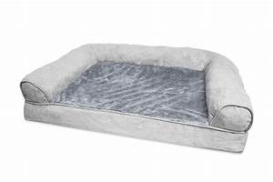 furhaven plush suede orthopedic sofa dog bed pet bed ebay With furhaven plush sofa pet bed