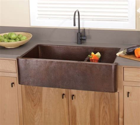 farmhouse copper kitchen sink 62 best installed farm sinks images on farm 7146