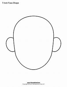 Blank Face Templates | Printable Face Shapes for Kids