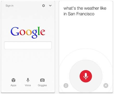 iphone search search app for ios updated with new voice search